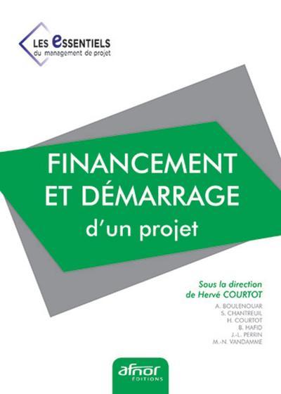 Financement Et Demarrage D'un Projet