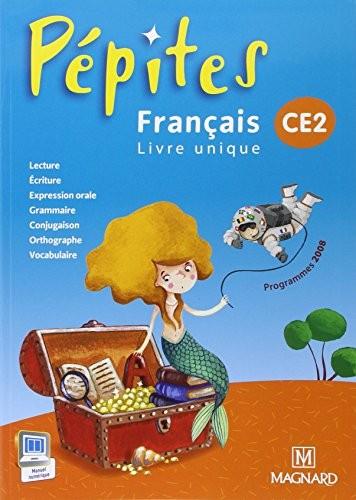 Français Ce2 Pépites : Livre Unique