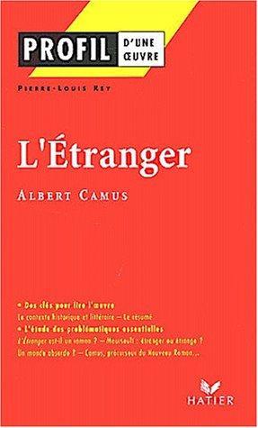 L' Etranger D'albert Camus