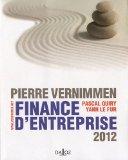 Finance D'entreprise 2012