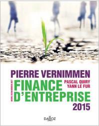 Finance D'Entreprise 2015