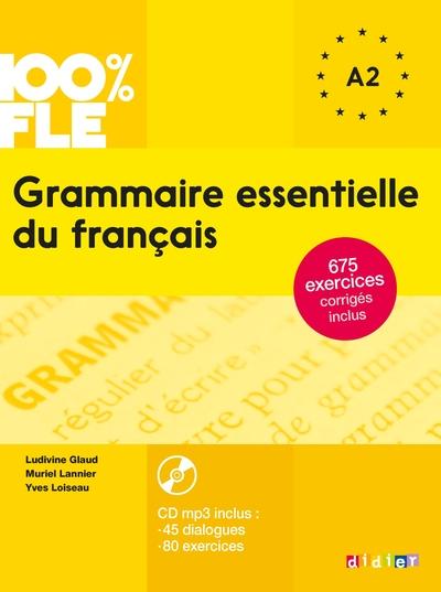 Grammaire Essentielle Du Francais A1 A2 2015 - Livre Cd