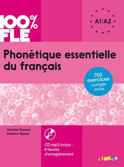 Phonetique Essentielle Du Francais Niveau A1 A2 - Livre + Cd Mp3