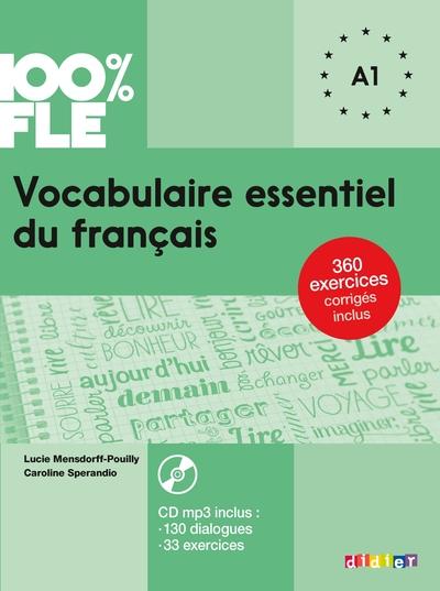 Vocabulaire Essentiel Du Francais Niv. A1 2018 - Livre + Cd