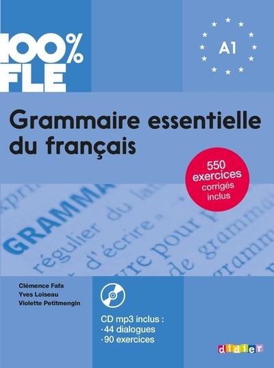 Grammaire Essentielle Du Francais Niv. A1 2018 - Livre + Cd