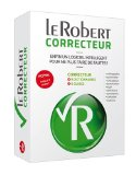 LE ROBERT CORRECTEUR LOGICIEL PC/MAC (BOITE) JUSQU A 3 POSTES