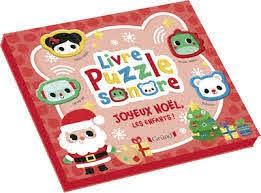 LIVRE PUZZLE SONORE - JOYEUX NOEL LES ENFANTS