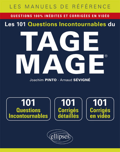 Les 101 Questions Incontournables Du Tage Mage Questions+Corriges En Video