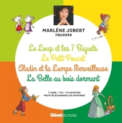 Marlene Jobert Raconte Le Loup Et Les 7 Biquets, Le Petit Poucet, Aladin, La Belle Au Bois Dormant