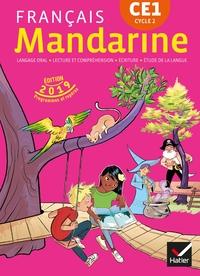 Mandarine - Francais Ce1 Ed. 2019 - Livre Eleve