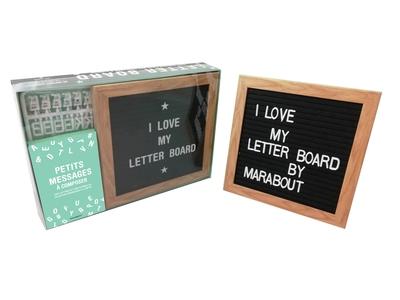 Coffret Letter Board