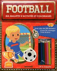 Ma mallette d'activités et coloriages - Football
