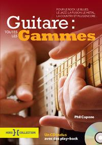 Guitare : Toutes Les Gammes + Cd Ne