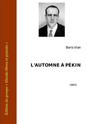 L Automne A Pekin (French Edition)