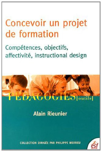 Concevoir Un Projet De Formation 2014