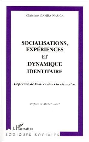 Socialisations, Experiences Et Dynamique Identitaire: L'epreuve De L'entree Dans La Vie Active (Logiques Sociales) (French Edition)