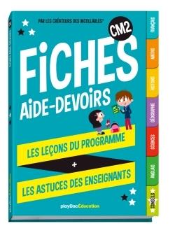 MES FICHES AIDE-DEVOIRS - CM2 2017