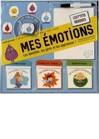 Mes émotions - Les identifier, les gérer et les apprivoiser ! Un kit interactif : 7 aimants, 15 cartes, 1 ardoise, 1 stylo, 1 livret