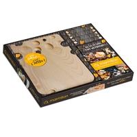 Coffret Dites Cheese c'est l'apéro  Marmiton, les meilleures recettes pour l'apéro Avec 1 planche de présentation 10 piques en bois
