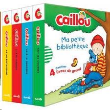 CAILLOU- MA PETITE BIBLIOTHEQUE