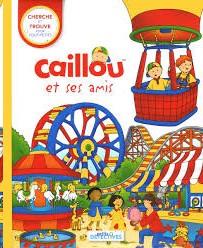 Caillou et ses amis - Cherche et trouve pour les tout-petits