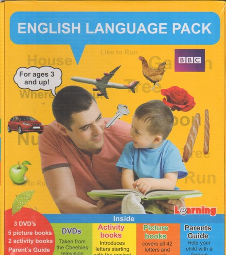 Learning Languages For Kids A-E-F