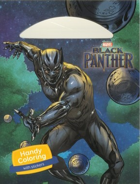 Black Panther - Handy Coloring