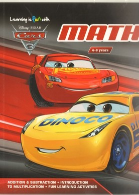 Learning Is Fun With Cars 3 - My Math Learning Wb