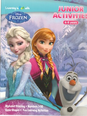 Learning is Fun With Frozen - My Junior activities