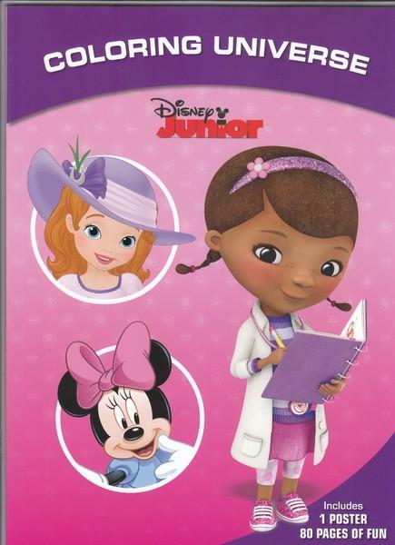 Coloring Universe Disney Junior Super Sweeties