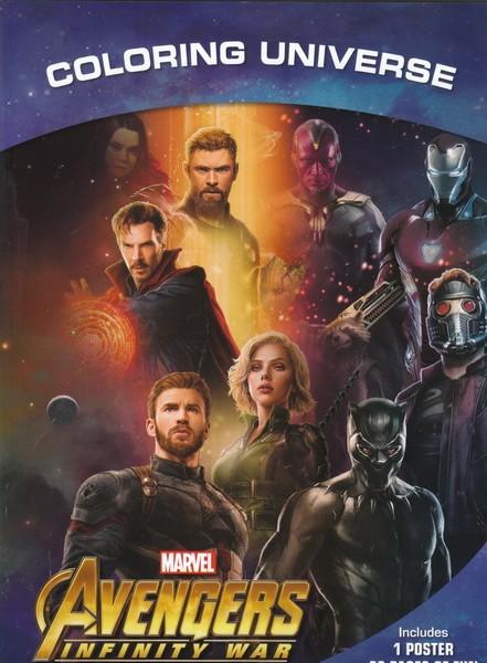 Avengers Infinity War Coloring Universe