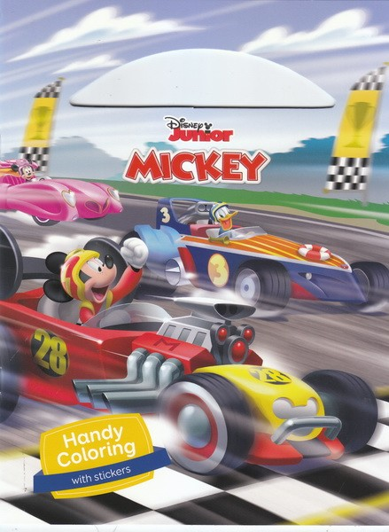 Mickey And The Roadster Racers Handy Coloring
