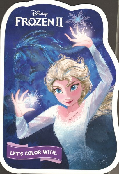 Let's color with Frozen II