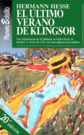 El Ultimo Verano De Klingsor_ (Fiction, Poetry & Drama)