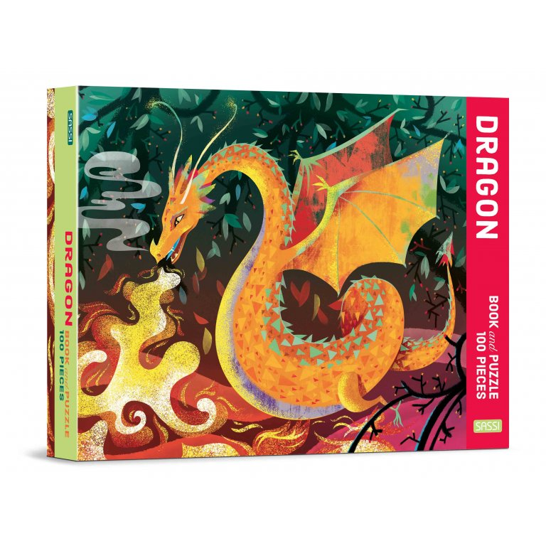 Dragon Book And Puzzle