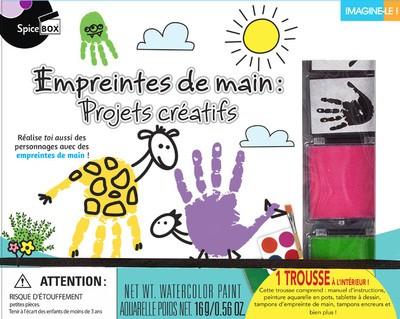Empreintes De Main : Projets Creatifs
