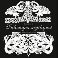 Tatouages mystiques : dessins à colorier anti-stress