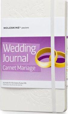 Moleskine Passion Journal - Wedding, Large, Hard Cover (5 X 8.25)
