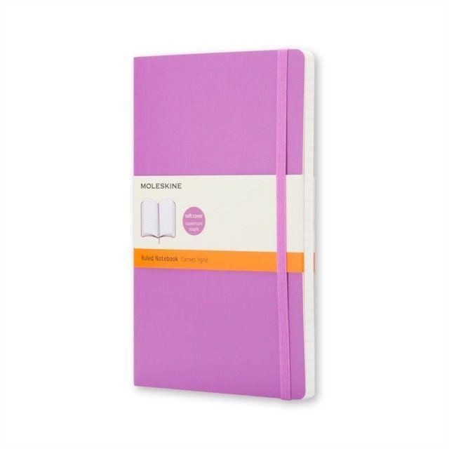 Notebook Lg Ruled Purple Soft