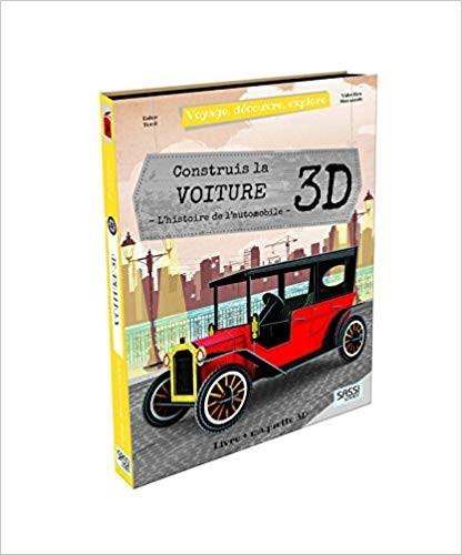 Voyage, Decouvre, Explore - Construis La Voiture 3D - L'histoire De L'automobile