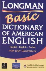 Longman Basic Dictionary Of American English English-English-Arabic