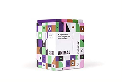 Flip and Fun: Animal Boxset: A Flipbook for Little Fingers and Colour Lovers