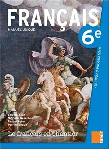 Le Francais En Chantier Eb6  Livre