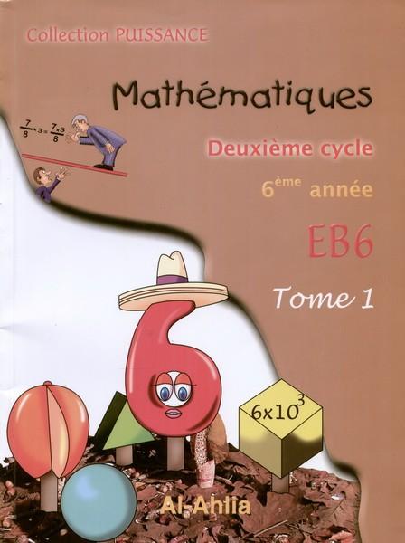 Math Eb6  Tome 1