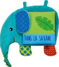 Nathan L'elephant - Dans La Savane (Lv Tissu)